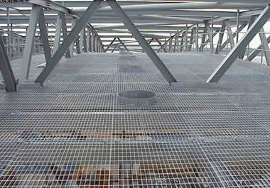 Floor Gratings Widely Used In Commercial And Industrial